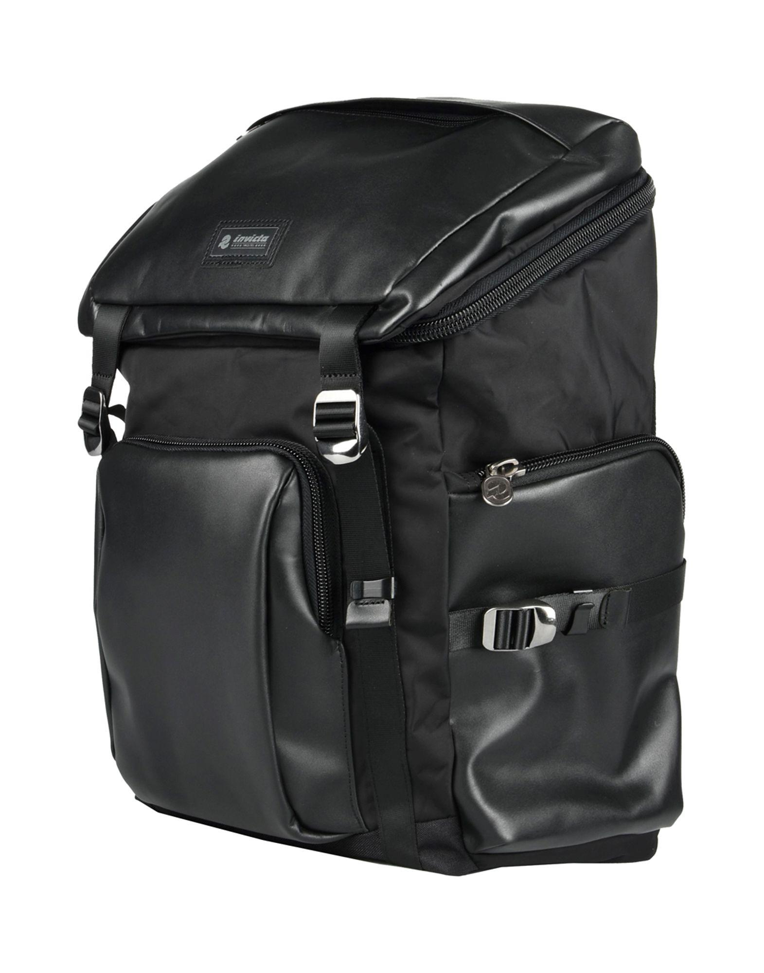 Invicta Backpack & Fanny Pack In Black