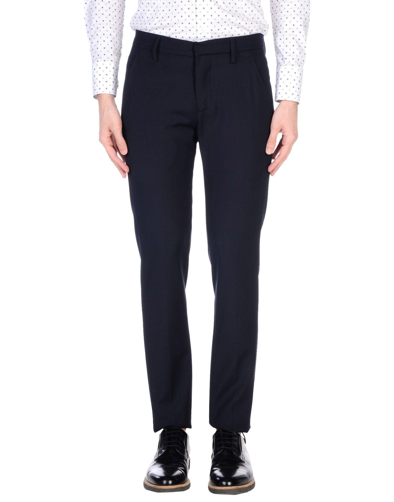 Dondup Casual Pants In Dark Blue