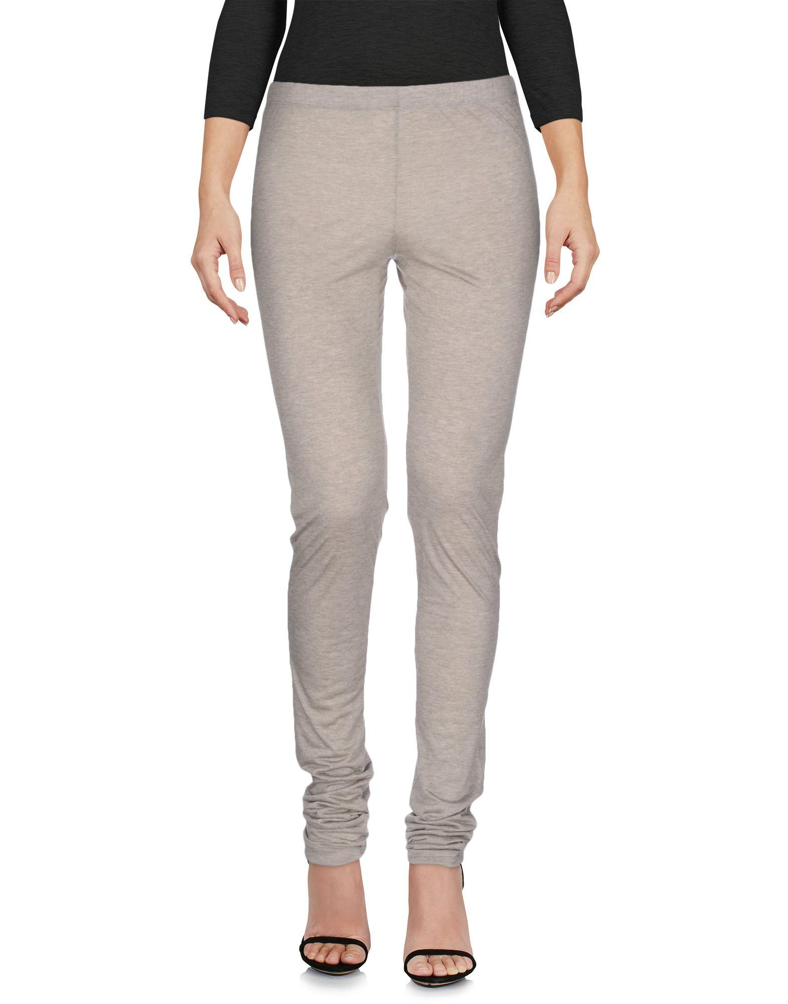 Moschino Cheap And Chic Leggings In Light Grey