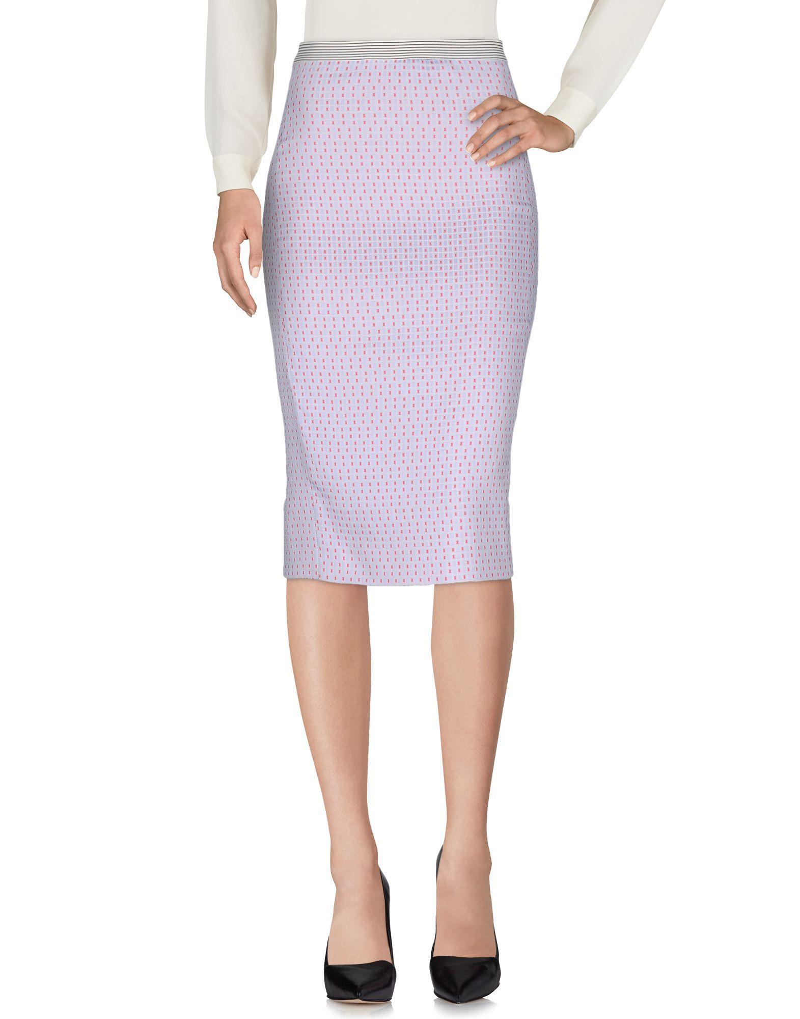 Teresa Dainelli Midi Skirts In Sky Blue