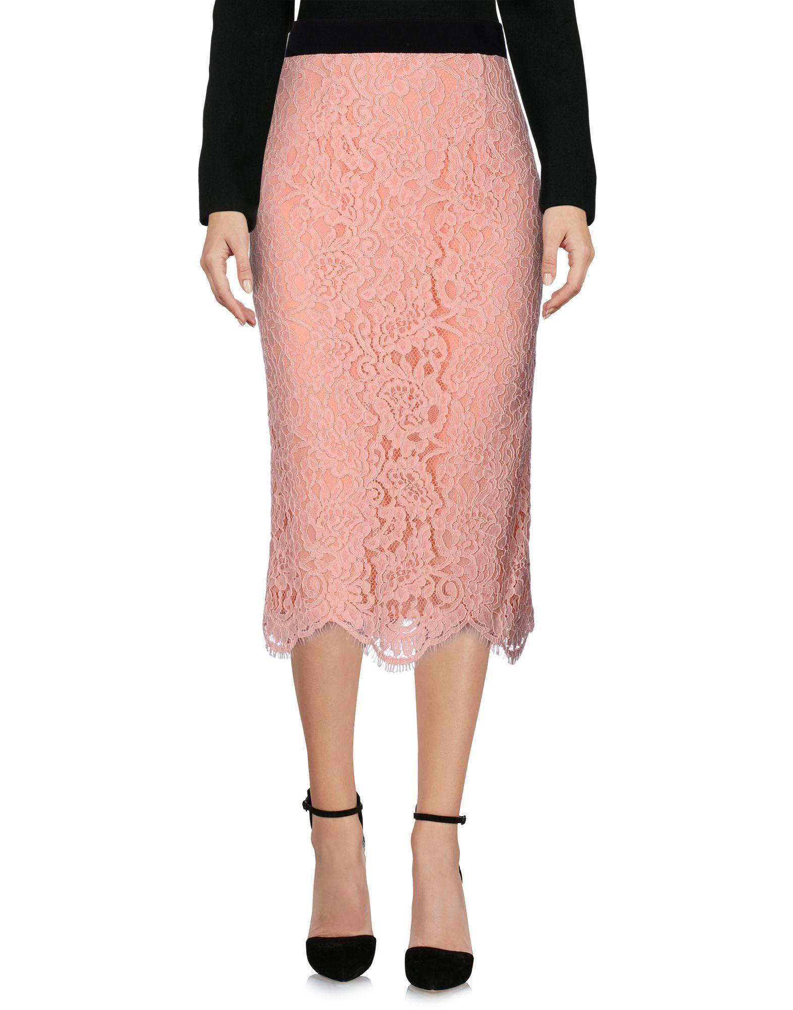 Marco Bologna Midi Skirts In Pink