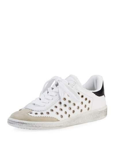 084276ead6 Isabel Marant Bryce Leather Trainers In White | ModeSens