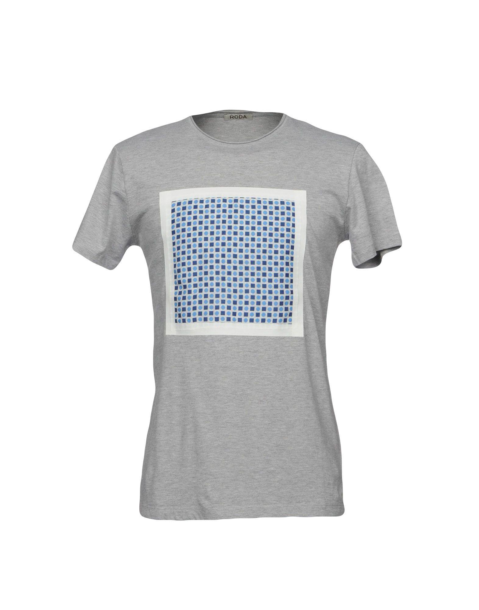 Roda T-Shirt In Grey