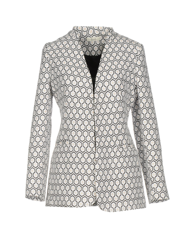 Ella Luna Sartorial Jacket In White