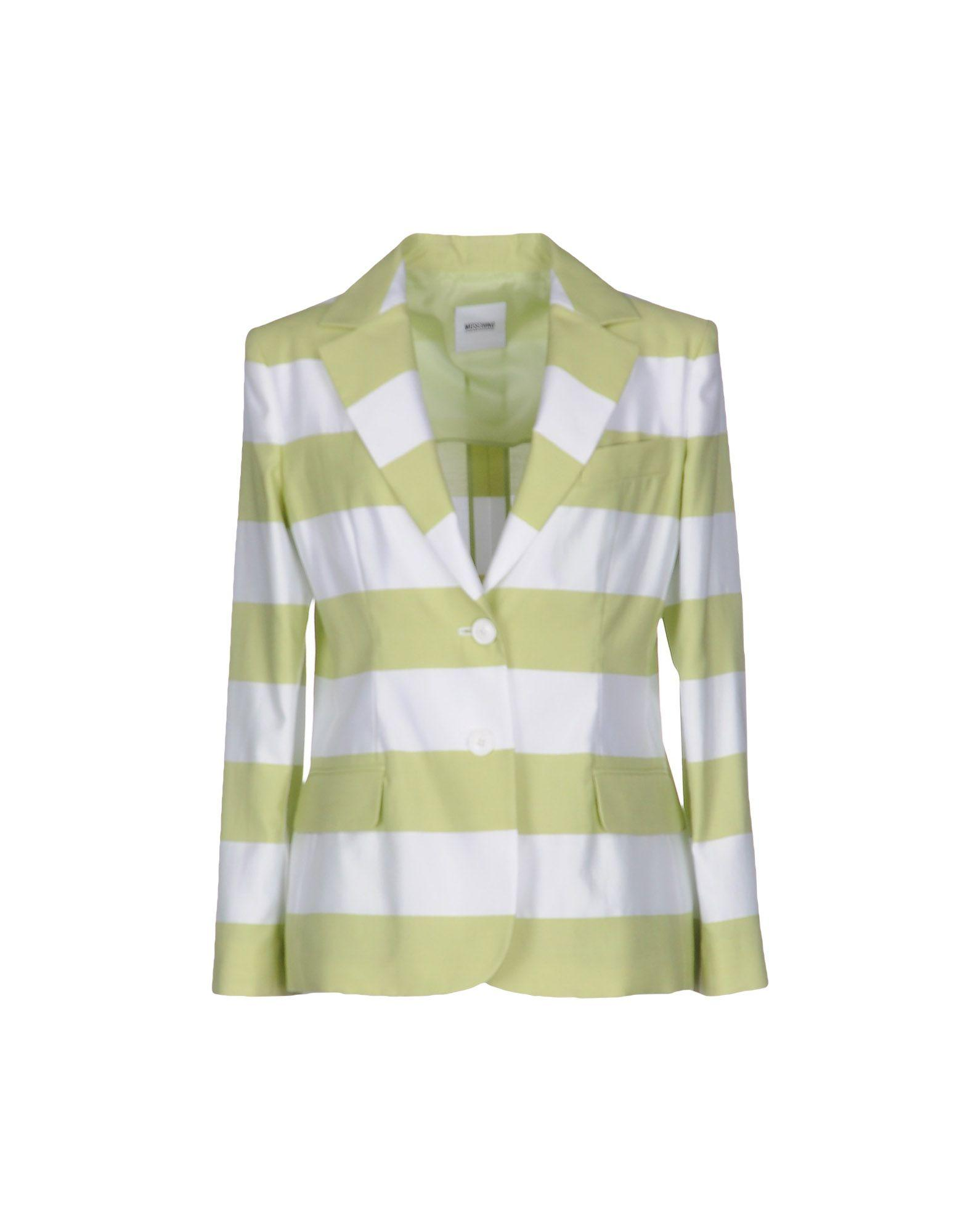Moschino Cheap And Chic Blazer In Acid Green