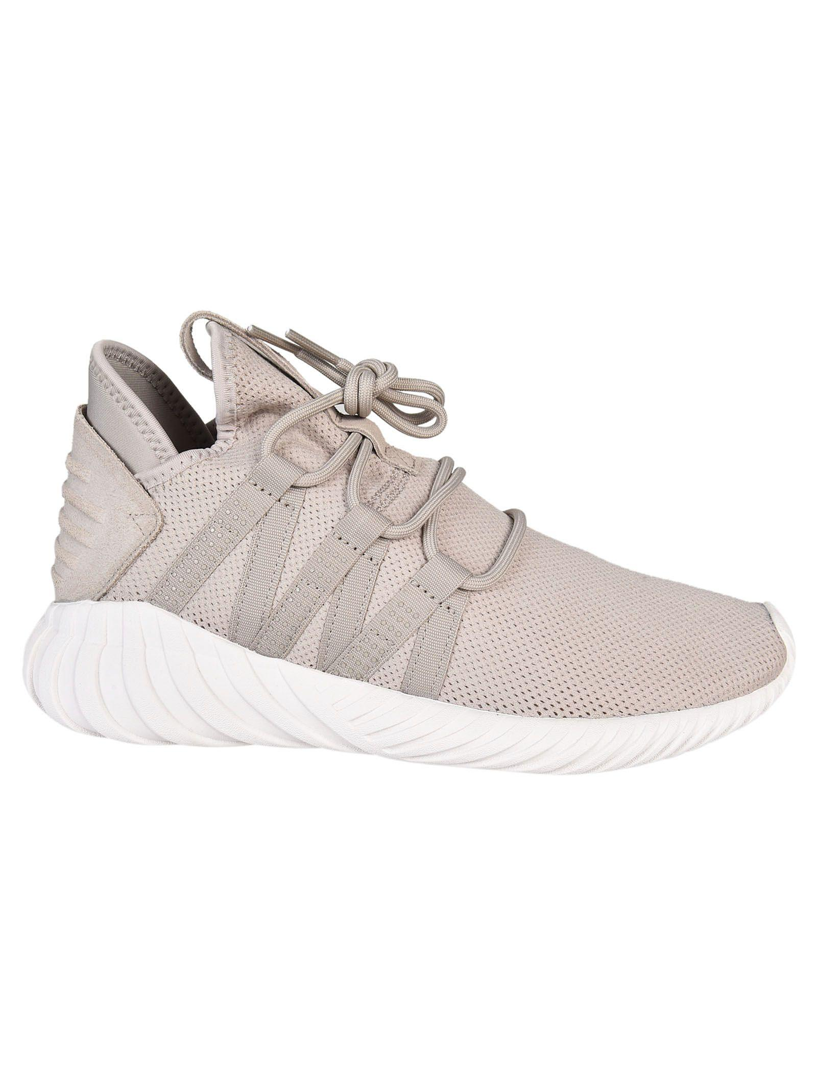 5c3936fdbc2e Adidas Originals Tubular Dawn Sneakers In Light Brown Crystal White ...