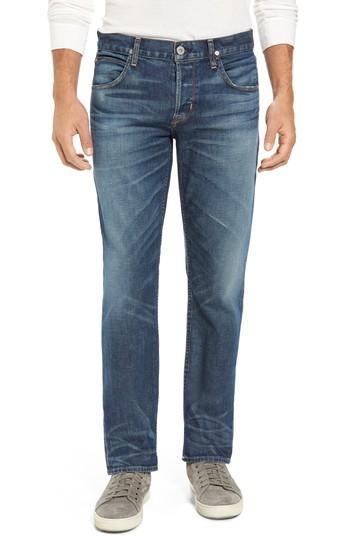 Hudson Blake Slim Fit Jeans In Scribe