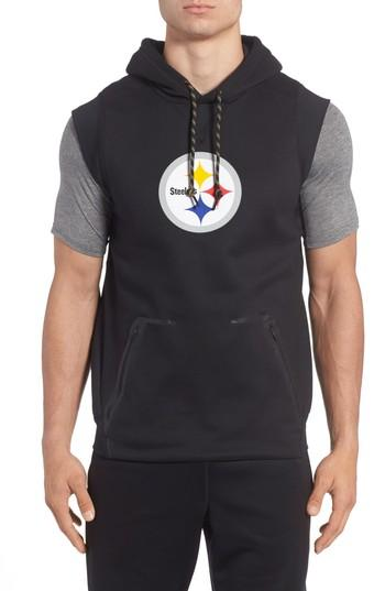timeless design 795c3 aa463 Therma-Fit Nfl Graphic Sleeveless Hoodie in Steelers