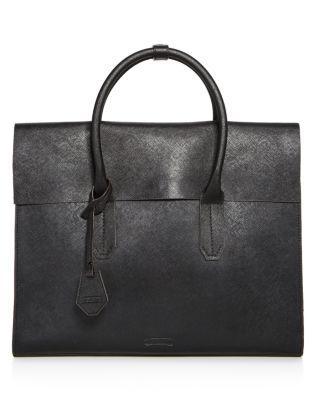 Uri Minkoff Murray Carryall Briefcase In Black/camo