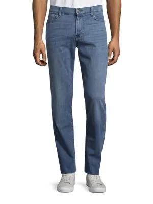 7 For All Mankind Slimmy Slim Straight-Leg Jeans In Dayton Sky