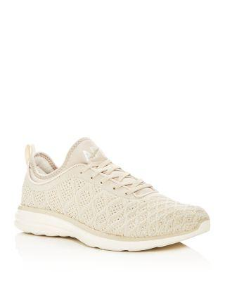 bdeaded93111 Apl Athletic Propulsion Labs Men s Techloom Phantom Lace Up Sneakers In  Parchment Beige