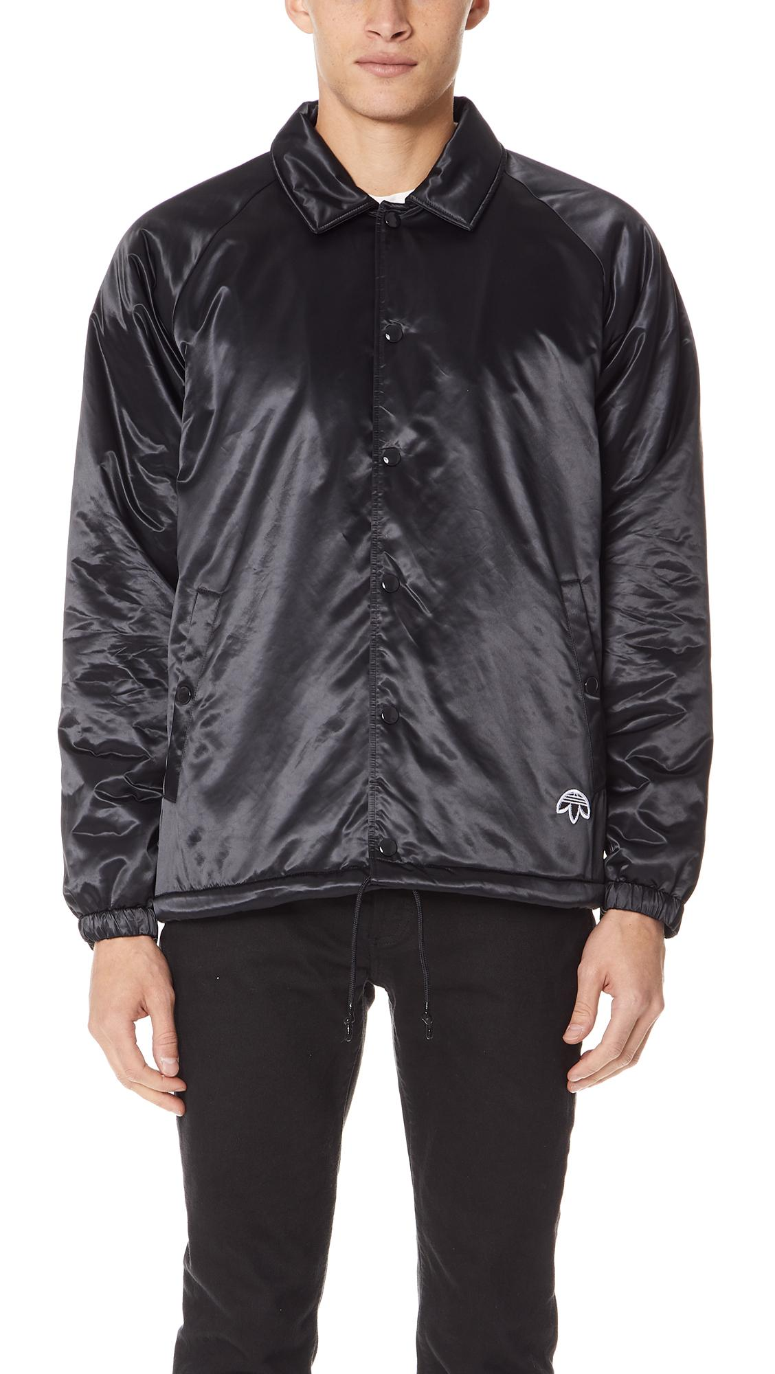 f80f7dd8a2 Adidas Originals By Alexander Wang Aw Coach Jacket In Black