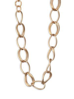Stephanie Kantis Flow Chain Necklace In Yellow Gold