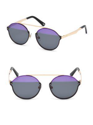 Web 58mm Pilot Sunglasses In Multi