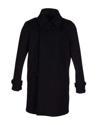Emporio Armani Coat In Black