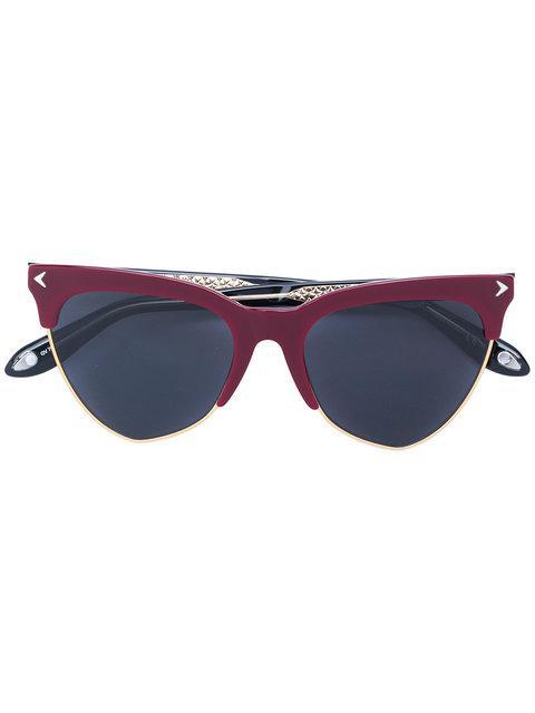3bc290cfbba Givenchy Eyewear Cat Eye Sunglasses - Black. Farfetch