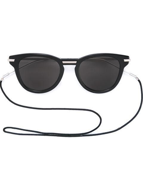 Dior Eyewear Round Frame Sunglasses - Black