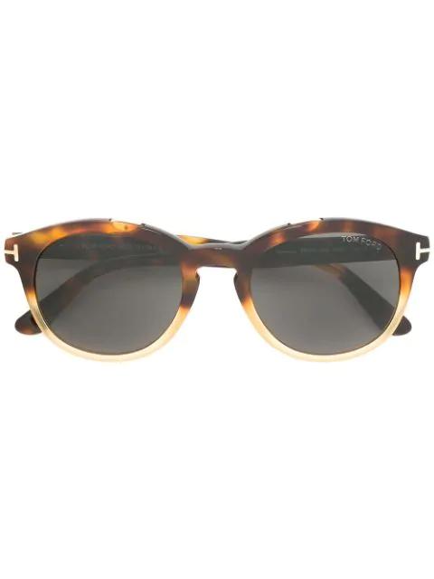 Tom Ford Eyewear Newman Sunglasses - Brown