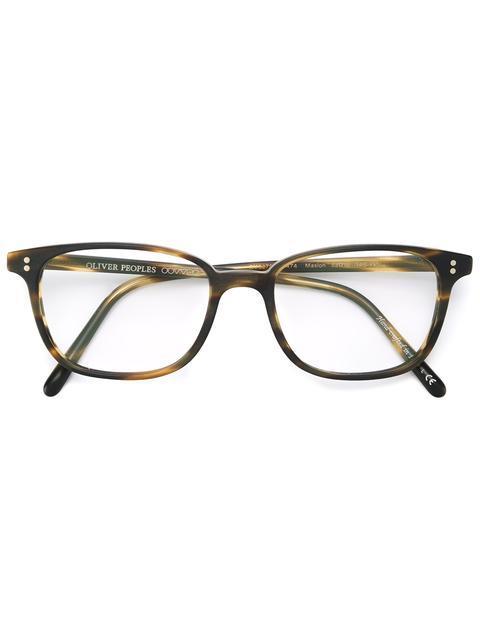 Oliver Peoples 'maslon' Glasses In Brown