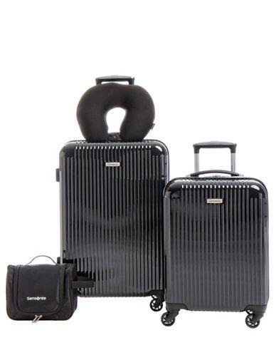 8ff7c83ac Samsonite Streamlite Hs Four-Piece Luggage Set-Black | ModeSens