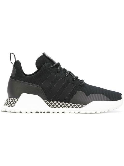 6580f9a09e3 Adidas Originals H.F 1.4 Primeknit Sneakers In Black By9395 - Black ...