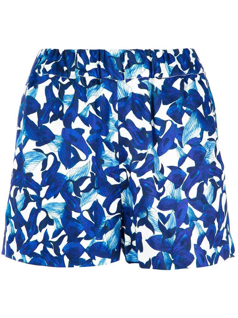 Isolda Printed Shorts