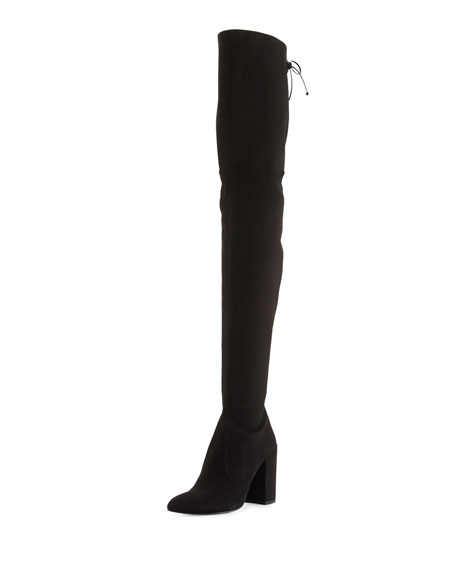 Stuart Weitzman Alllegs Ultrastretch Over-The-Knee Boot, Noir, Black