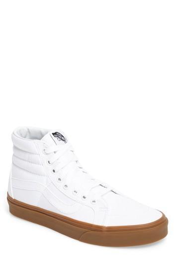 be3e28d786 Vans  Sk8-Hi Reissue  Sneaker In True White Canvas