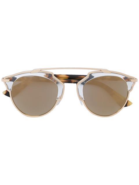 e4b82e001116 Dior Eyewear   So Real  Sunglasses - Metallic