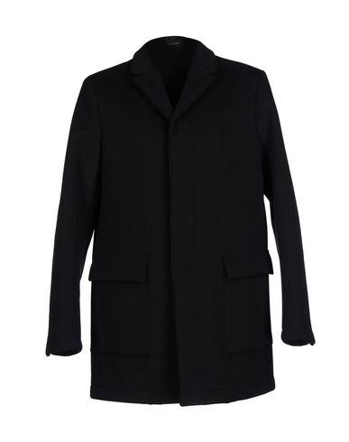Emporio Armani Coat In Dark Blue