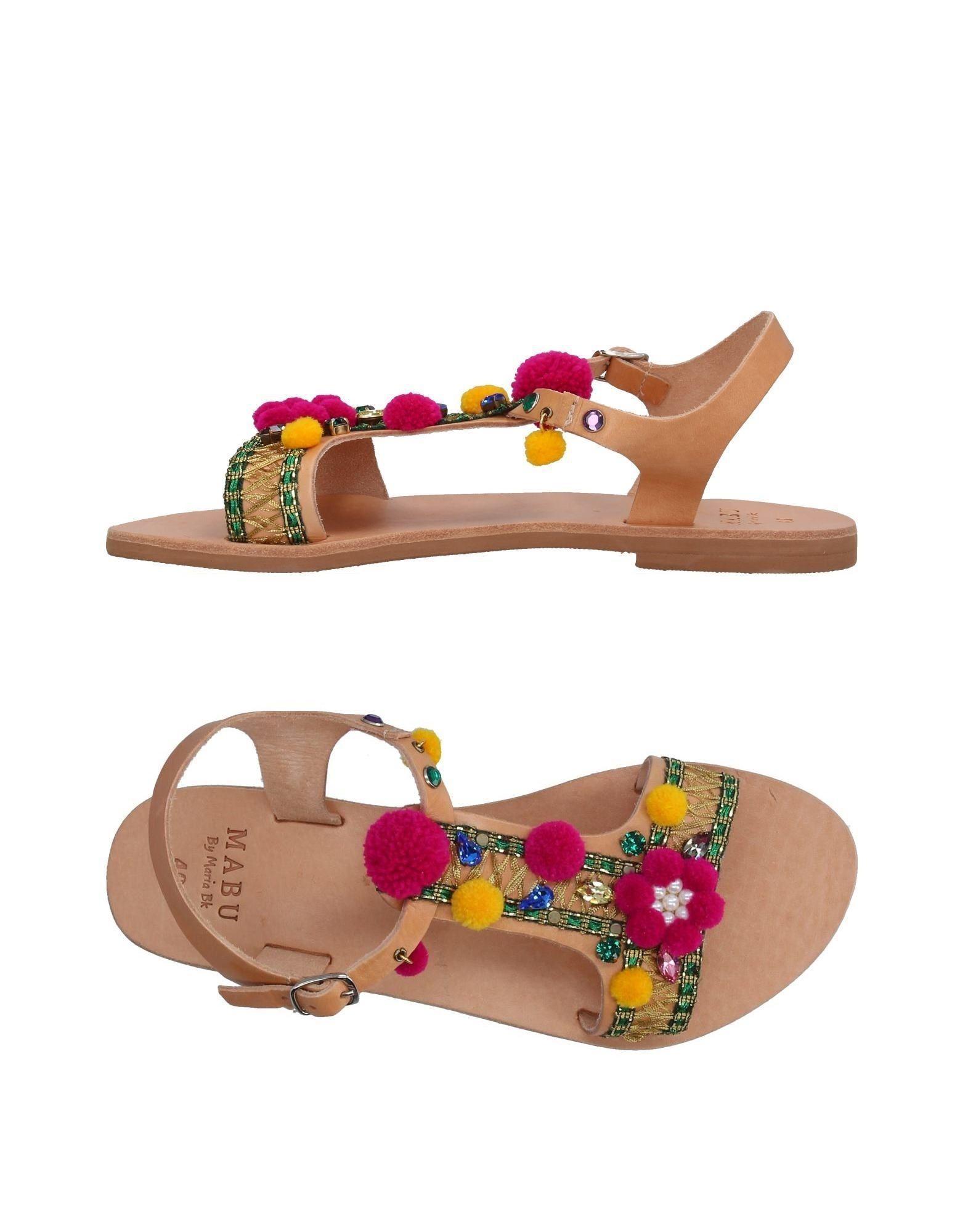 Mabu By Maria Bk Sandals In Tan