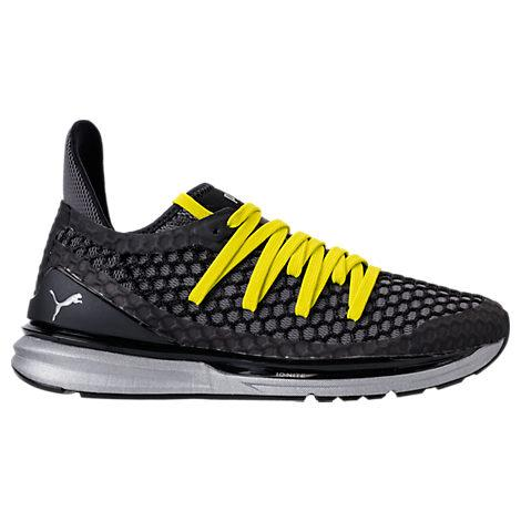 sports shoes c6eba e73b4 Men's Ignite Limitless Netfit Nightcat Casual Sneakers From Finish Line in  Puma Black-Nrgy Yellow