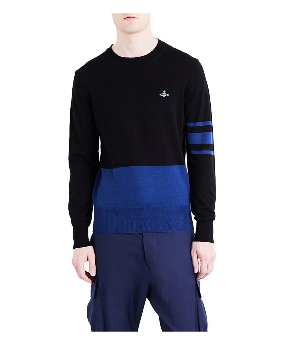 Vivienne Westwood Men's  Blue Cotton Sweatshirt