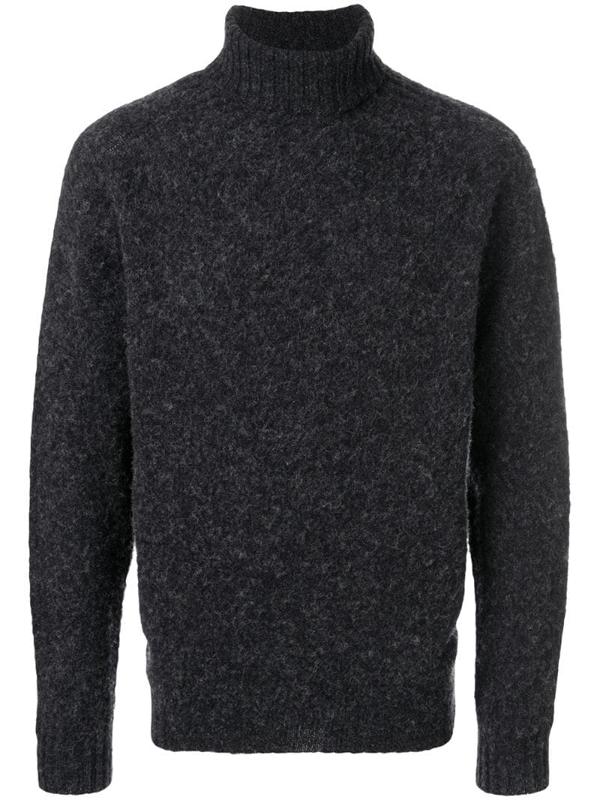 Howlin' Roll-neck Sweater In Grey