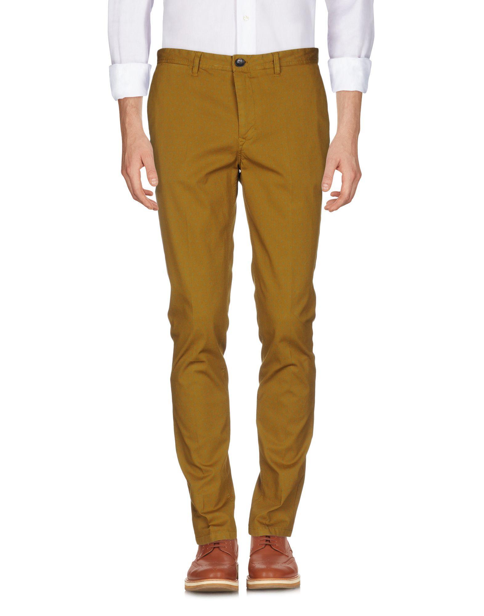 Scotch & Soda Casual Pants In Camel