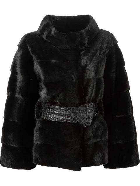 Liska Short Jacket In Black