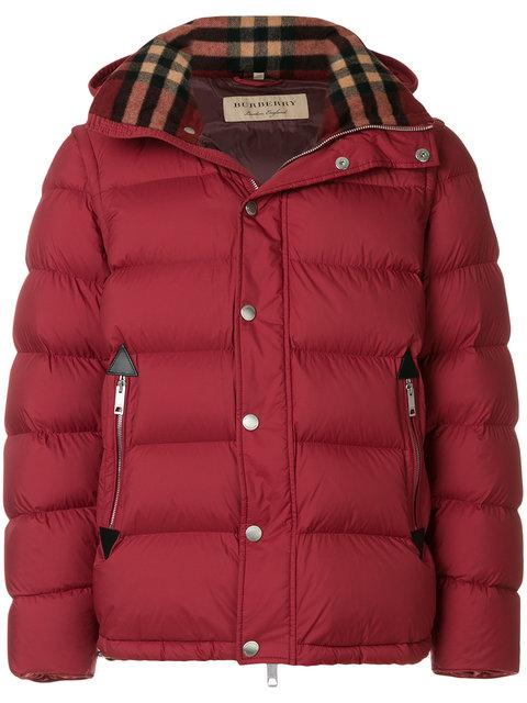 4c960ad17710 Burberry Hartley Two-In-One Puffer Jacket In Parade Red