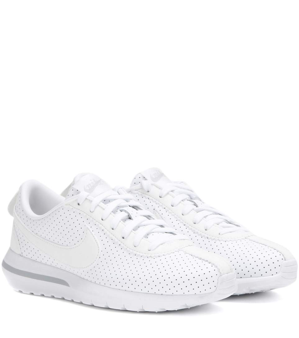 best service 1cd5c 2808c Nike Roshe Cortez Nm Perforated Leather Sneakers In White