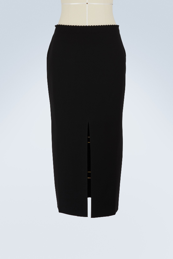 dc6a37284c Proenza Schouler Black Stretch-Knit Midi Skirt | ModeSens
