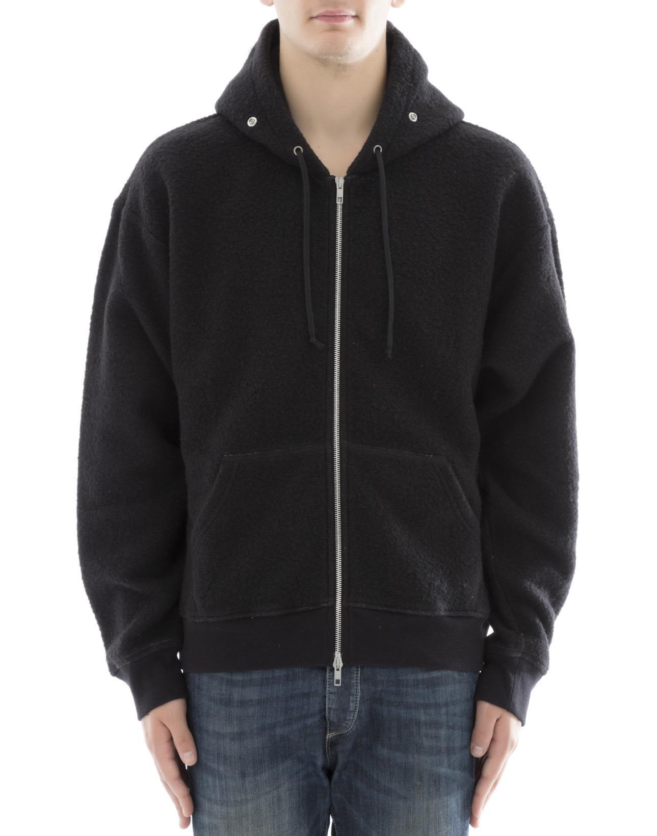Maison Margiela Black Cotton Sweater