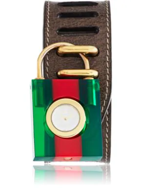 0ced1436807 Gucci Textured-Leather