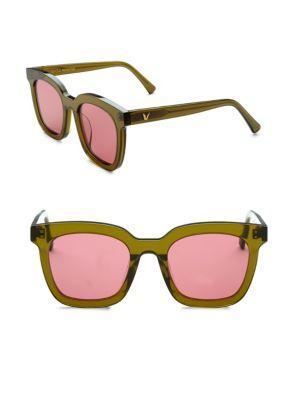 c4fb48f9c909 Gentle Monster Finn Retro Square Sunglasses In Pink