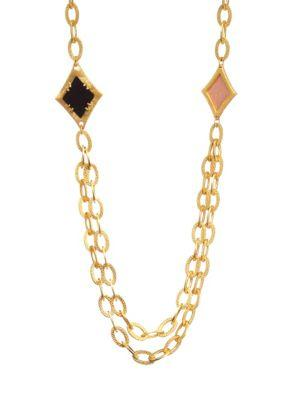 Stephanie Kantis Illumination Necklace In Yellow Gold