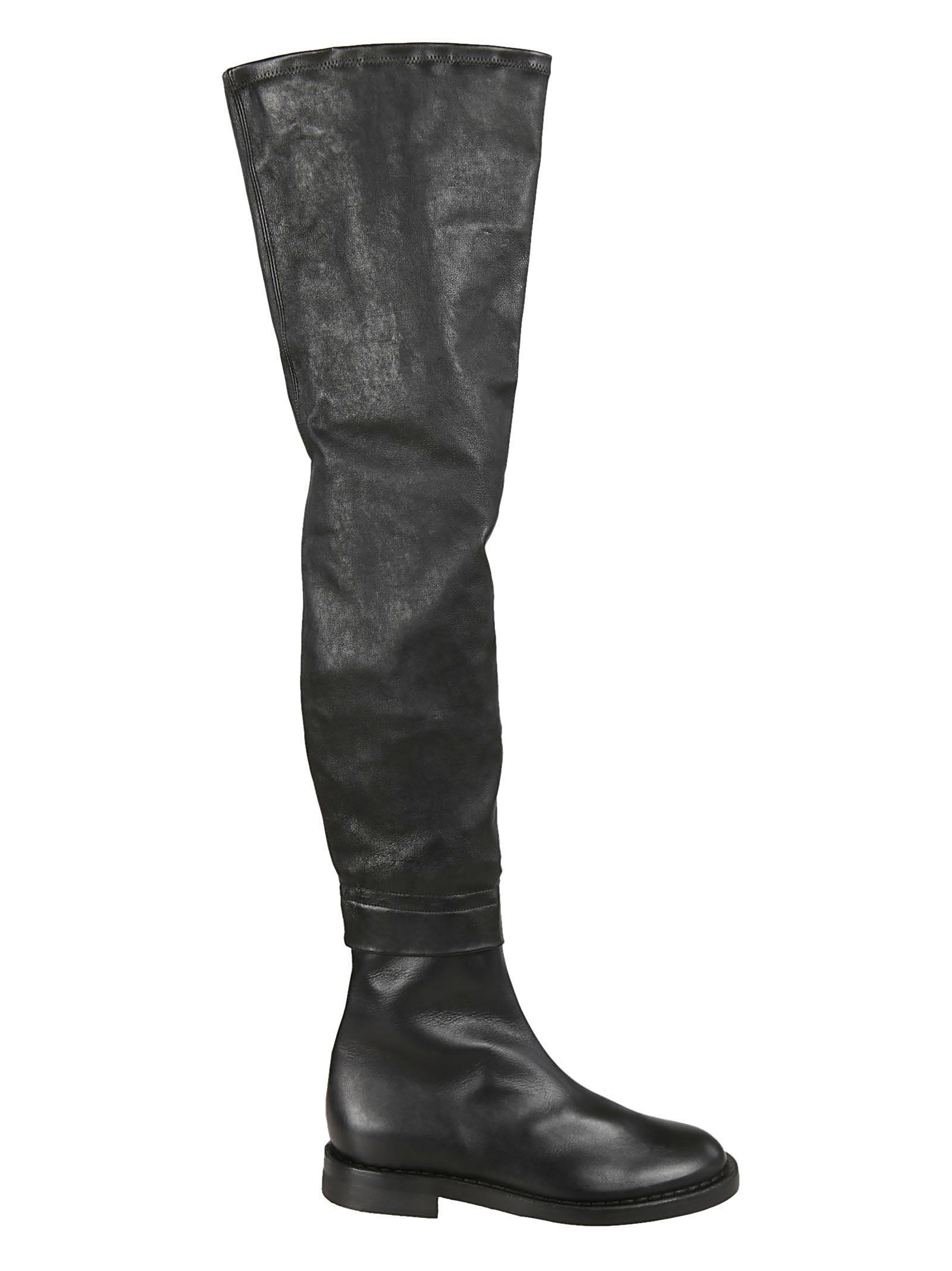 21d6357dfe4 Ann Demeulemeester Thigh-High Over-The-Knee Boots