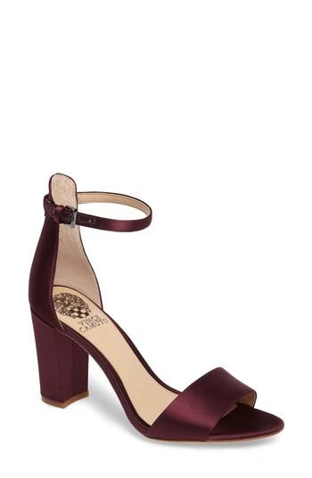 cff226319a6a Vince Camuto Corlina Ankle Strap Sandal In Titanium Suede