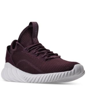 new product 84cfe 2c944 Adidas Men's Tubular Doom Sock Primeknit Casual Sneakers From Finish Line  in Dark Burgundy/Dark Burgun