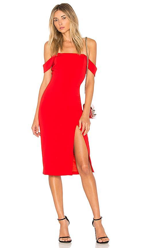 Jay Godfrey X Revolve Downie Dress In Red