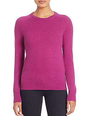 Joie Sloane Cashmere Crewneck Sweater In Hollyhock
