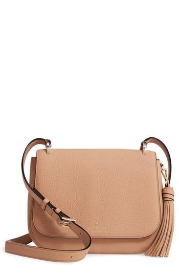 Kate Spade Daniels Drive - Tressa Leather Crossbody Bag - Brown In Hazel