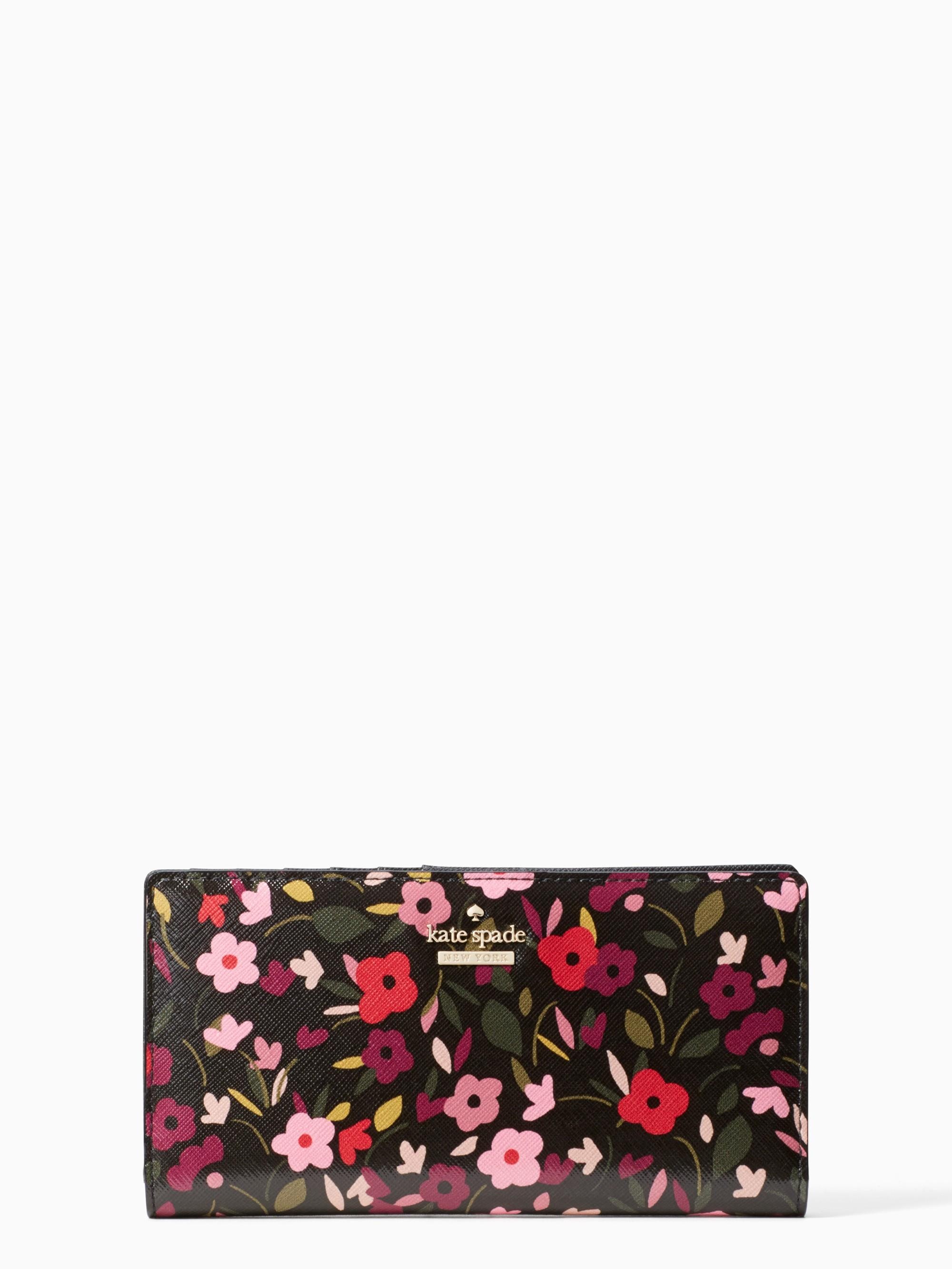 Kate Spade Cameron Street Boho Floral Stacy In Black